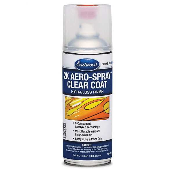 Eastwood 2K AeroSpray High Gloss Clear Coat 335ml-0