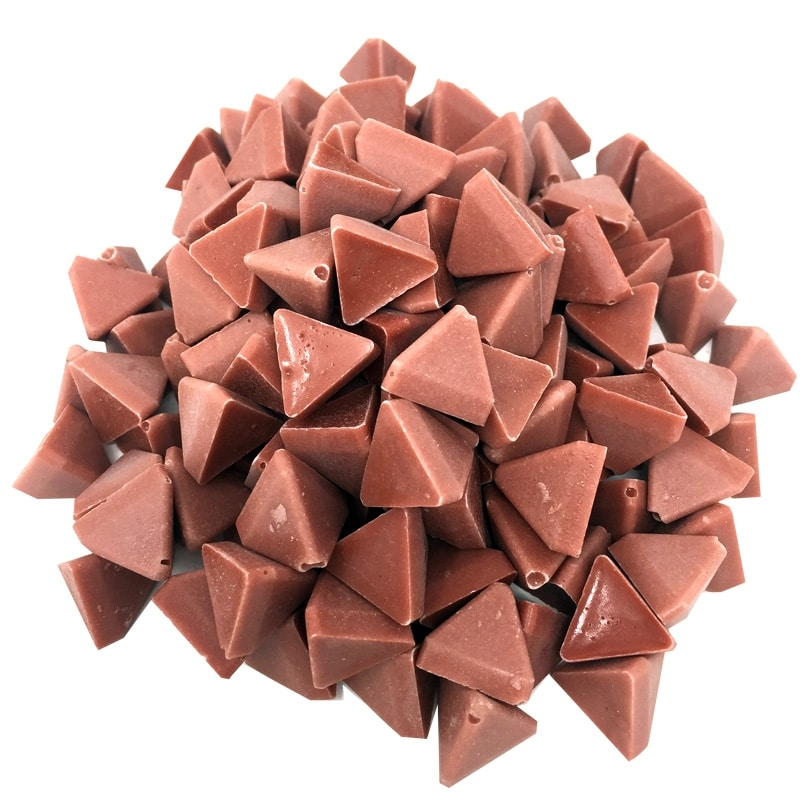 Polishing Media Ceramic Triangles 1kg For Vibratory Tumbler Frost Cleaning