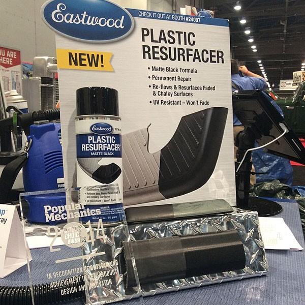 Eastwood Plastic Bumper Restore & Resurfacer - Matt Black Aerosol