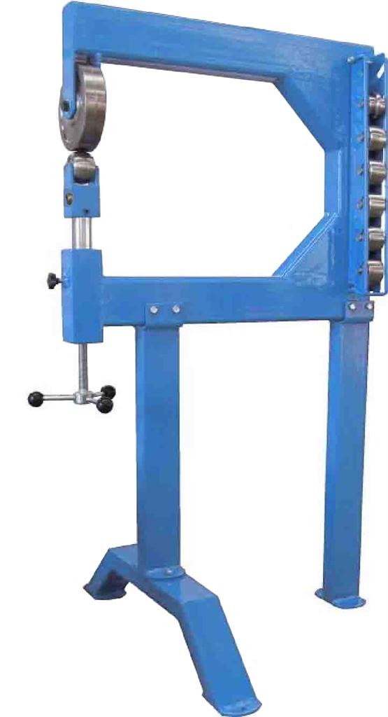 710mm Throat Wheeling Machine / Fabricated Frame Wheeler / English Wheel