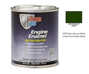 POR15 Austin Healey Green Engine Enamel Paint (473ml)-0