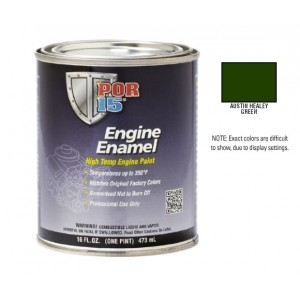 POR15 Austin Healey Green Engine Enamel Paint (473ml)-0