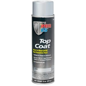 POR15 Top Coat Silver Paint (Stirling Silver) Aerosol (368g)