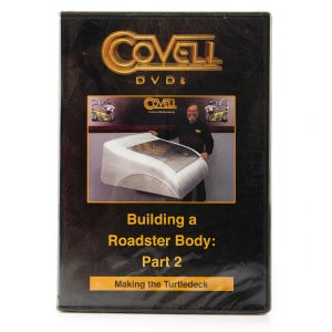 Ron Covell DVD - Building a Roadster Body - Part 2: Making the Turtledeck