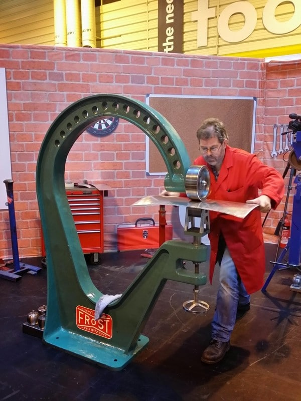 "42"" Wheeling Machine (1100mm) / Cast Iron Frame Wheeler / English Wheel-0"