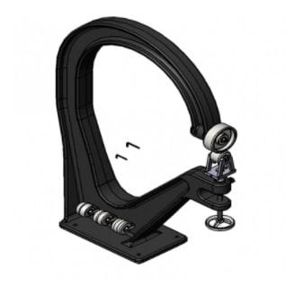 "42"" Wheeling Machine (1100mm) / Cast Iron Frame Wheeler / English Wheel-11750"