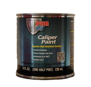 POR15 Caliper Paint BLACK 237ml (8oz)