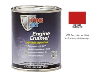 POR15 Chrysler Hemi Orange Engine Enamel Paint (473ml)-0