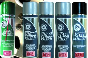 Frost Alloy Wheel Silver Paint Kit (Paint, Primer and Cleaner)