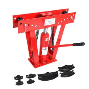 12 Ton Hydraulic Metal Tube / Rod / Pipe Bender with 6 Dies