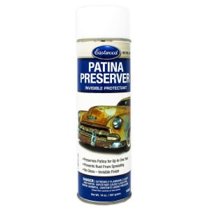 Eastwood Patina Preserver Aerosol - Invisible Rust Protectant Coat