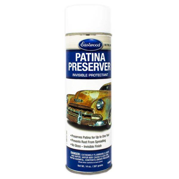 Eastwood Patina Preserver Aerosol - Invisible Rust Protectant Coat