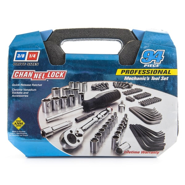 Channellock Mechanics Tool Set (94 Pc)