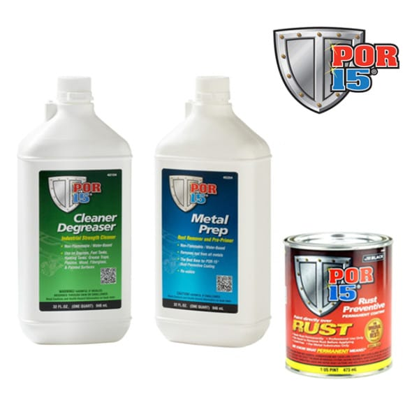 POR15 Stop Rust Kit in CLEAR (Small size)-0