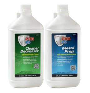 POR15 Metal Treatment Pack - Cleaner Degreaser & Metal Prep (US Quart)
