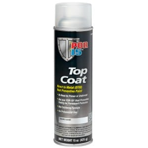 POR15 Top Coat Gloss Clear Aerosol (368g)