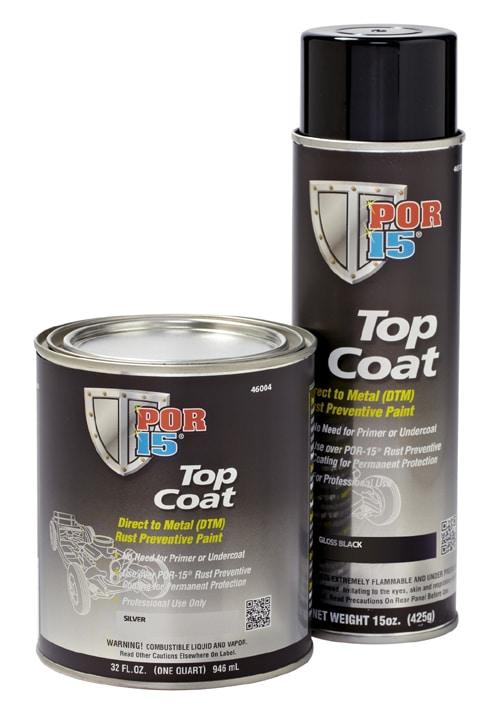 POR15 Top Coat Gloss White