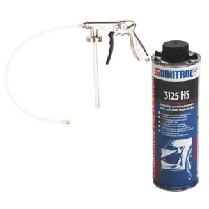 Dinitrol 3125 HS 1 litre and Underbody Coating Gun (Shutz Spray Gun) S655