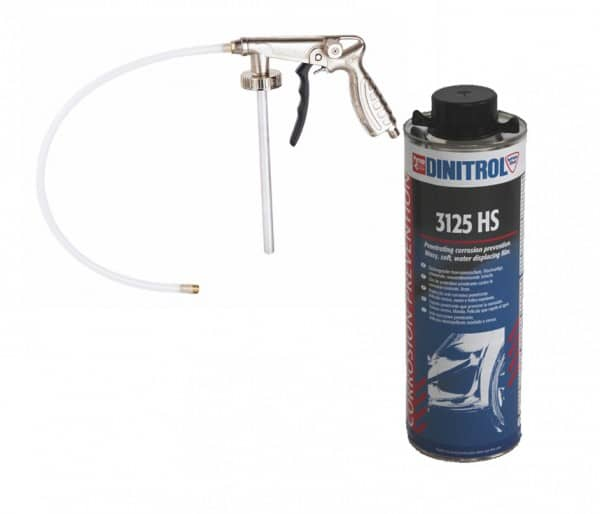 Dinitrol 3125 HS 1 litre and Underbody Coating Gun (Shutz Spray Gun)