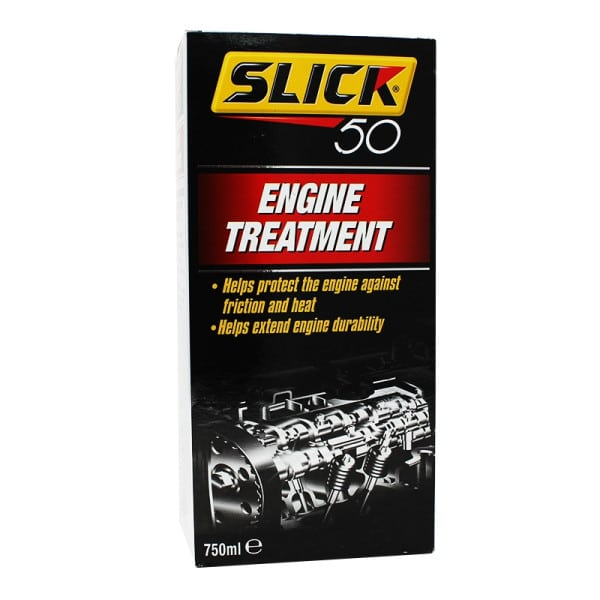 Slick 50 Engine Treatment - Safe for Petrol and Diesel Engines (750ml)