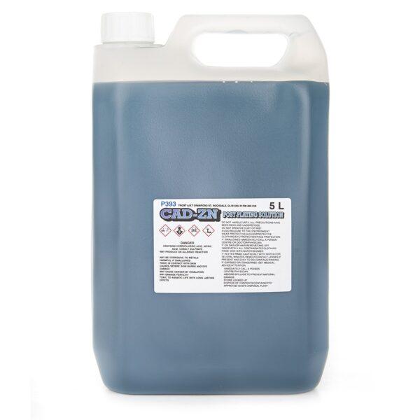 Zinc Post Plating Solution for Cadmium Zinc Plating (5 Litres)