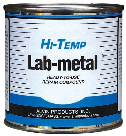 Hi Temperature Lab Metal Filler - Ready-to-use Metal Repair and Patching Compound (24oz)