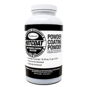 Eastwood Extreme Chrome Bonded Hotcoat Powder Coating (8oz)
