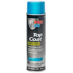 POR15 Top Coat Blue Aerosol (368g)