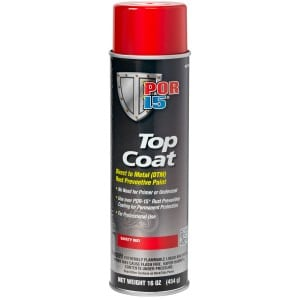 POR15 Top Coat Red Aerosol (368g)