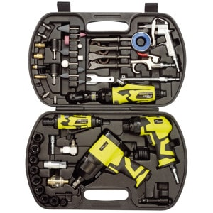 Storm Force 68 Piece Air Tool Kit Draper 83431