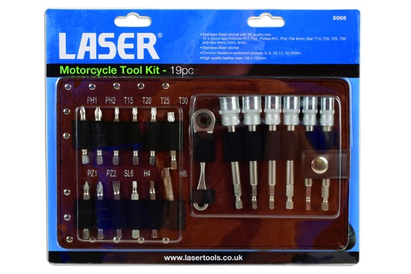 Alldrive Metric / AF Socket and Ratchet Set 19pc
