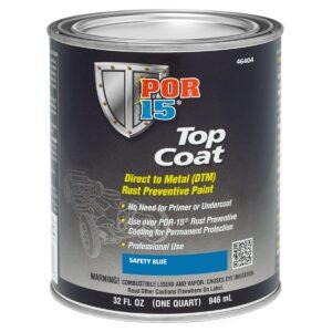 POR15 Top Coat Blue 946ml (US Quart)