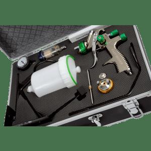 LVLP Gravity Feed Spray Gun Kit (2 Sprayguns 600ml and 125ml) FMT4007/1.3