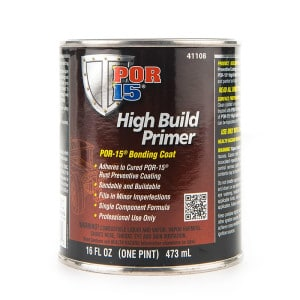 POR15 High Build Primer (Tie Coat Primer) Bonding Paint US Pint (473ml)