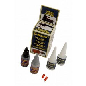 QBond Ultra Strong Plastic & Metal Adhesive, Filling Powders Repair Mini Kit