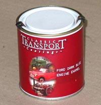 Frost Semi Gloss Black Engine Enamel Paint (500ml)-11345