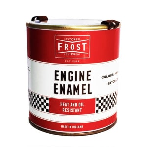 Frost Semi Gloss Black Engine Enamel Paint (500ml)