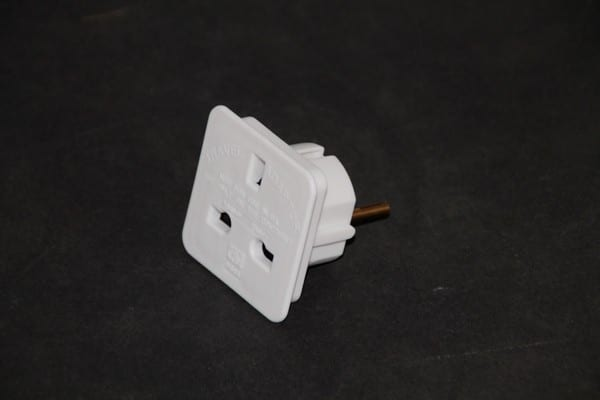 European Plug Adaptor (2 Pin)