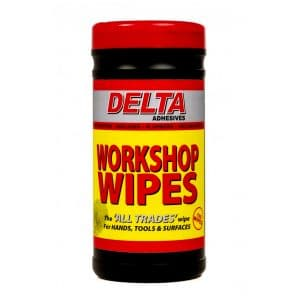 Delta All Trades Workshop Wipes (Tub of 100)