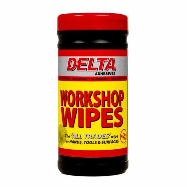 Delta All Trades Workshop Wipes (Tub of 100)