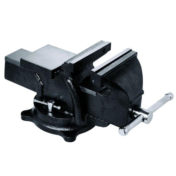 "5"" Heavy Duty Swivel Base Bench Vice/Vise with Anvil"
