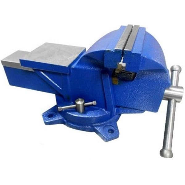 "5"" Heavy Duty Swivel Base Bench Vice with Anvil-0"