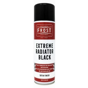 Frost Extreme Radiator Black Paint Aerosol - Satin Finish (500ml)