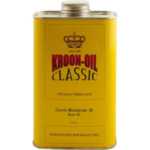 Kroon Oil Classic Monograde SAE 30 Engine Motor Oil (1L)