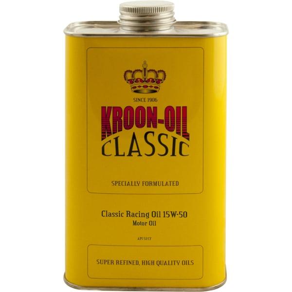 Kroon-Oil Classic Racing Semi-Synthetic Multigrade 15w50 Engine Motor Oil (1L)