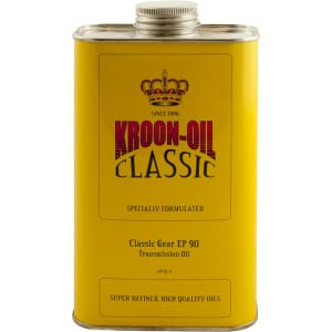 Kroon Oil Classic Gear EP 90 - Medium SAE 90 Transmission Oil (1L)