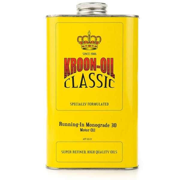 Kroon Oil Classic Running-In Monograde SAE 30 Engine Motor Oil (1L)