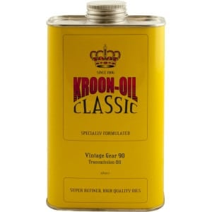 Kroon Oil Classic Vintage Gear SAE 90 Transmission Oil (1L)