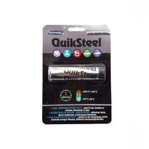 QuikSteel Steel Reinforced Epoxy Putty - Metal Instant Repair Filler