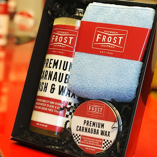 Frost Premium Carnauba Wash & Wax - Concentrated Shampoo 1L & Carnauba Wax 65% (150g) (2 FOR 1)-11901